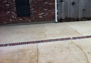 After Concrete Cleaning in Mandeville, LA by R Brown Services.
