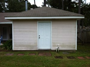 After Power Washing in Gulfport, MS by R Brown Services.