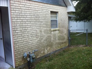 Power Washing in Gulfport, MS by R Brown Services.