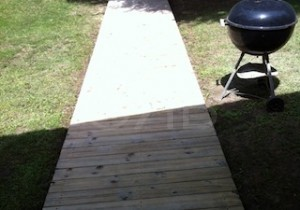 After Power Washing in Biloxi, MS by R Brown Services.