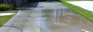 Concrete Cleaning in Long Beach, MS by R Brown Services