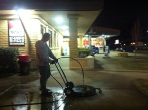 Concrete Cleaning in Metairie, LA by R Brown Services