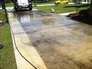 Power Washing in Ocean Springs, MS by R Brown Services.