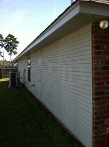 After Power Washing in Mandeville, LA by R Brown Services.