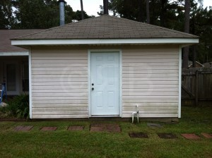 Power Washing in Mandeville, LA by R Brown Services.