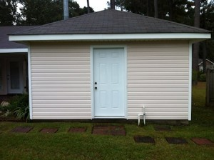 Power Washing in Biloxi, MS by R Brown Services.