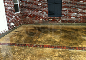 Concrete Cleaning in Biloxi, MS by R Brown Services.
