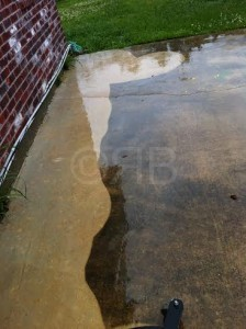 Concrete Cleaning in Slidell, LA by R Brown Services.